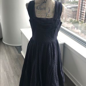 Mid length Navy Girls From Savoy Cocktail Dress